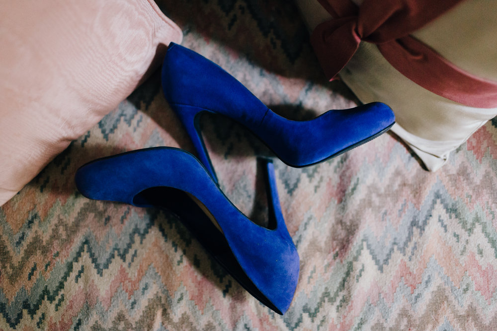 Erin Morrison Photography Tennessee blue high heels