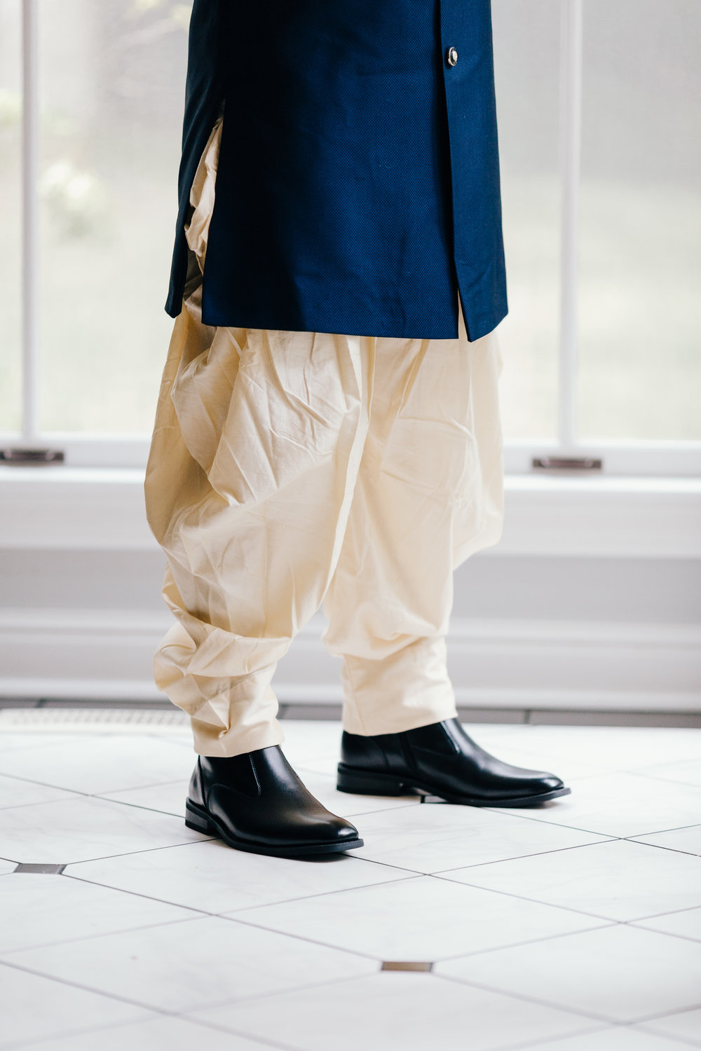 Erin Morrison Photography Tennessee groom in traditional indian wedding clothes