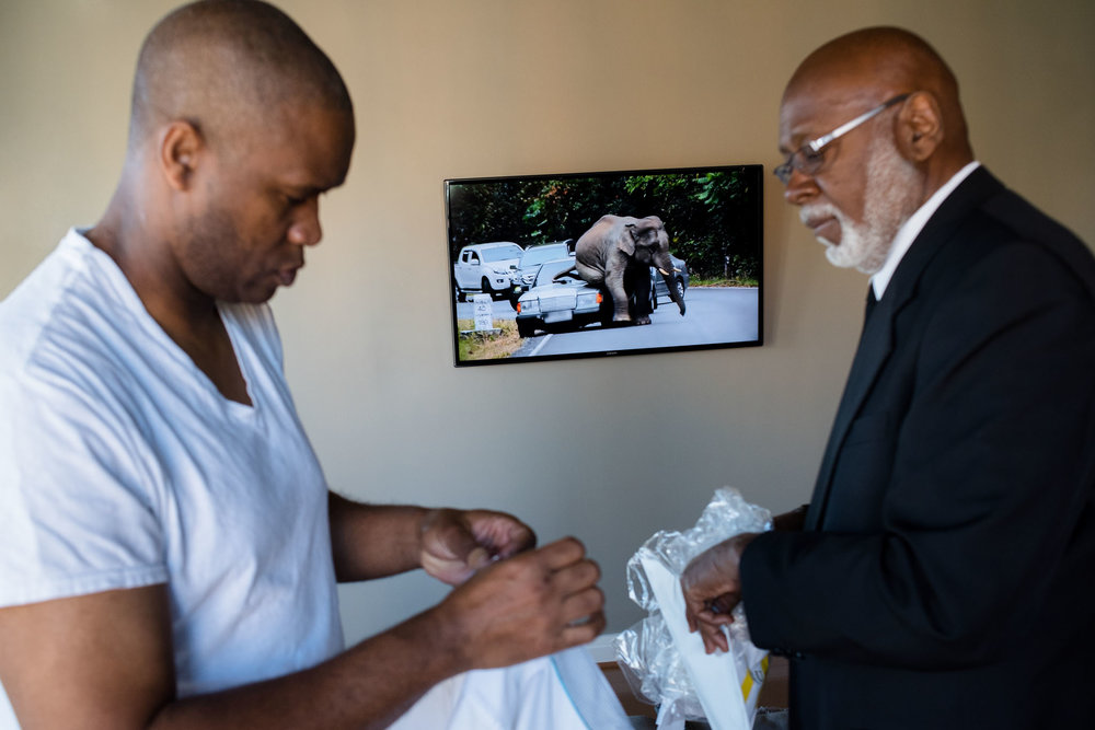 The Madious Wedding Photography DC groom getting ready