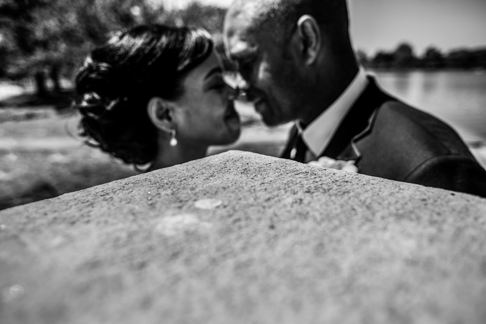 The Madious Wedding Photography DC bride and groom