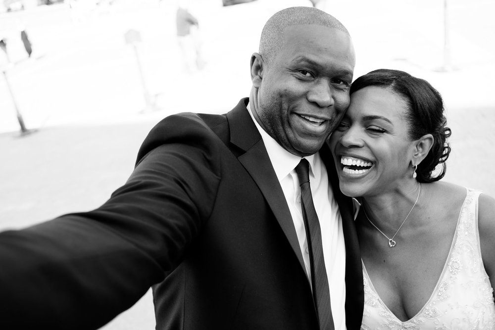 The Madious Wedding Photography DC bride and groom selfie