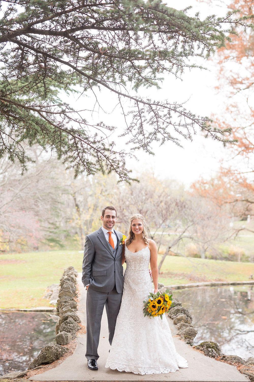 Corey and Alex Larrison Wedding Photography Cincinnati couple posing