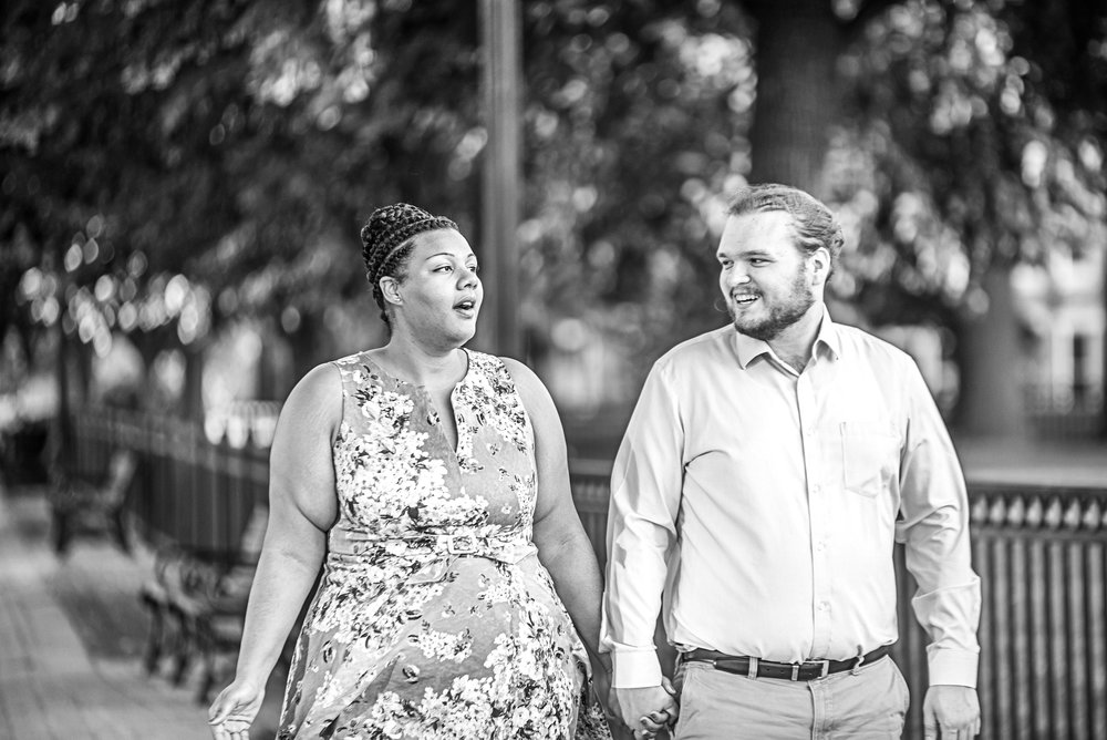 Ronnie Bliss Wedding Photography Baltimore Maryland strolling candid
