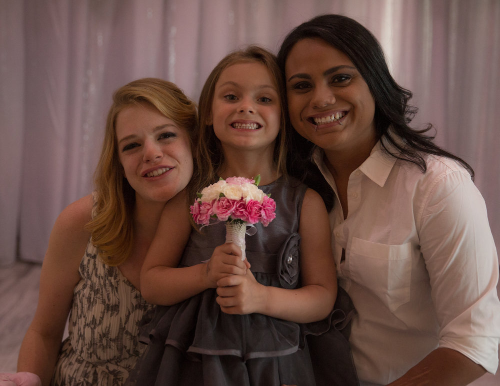 Colleen Stavrakos Wedding Photography brides and flower girl