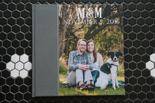 Erika Nizborski Wedding Photography DC engagement Picture Photo book
