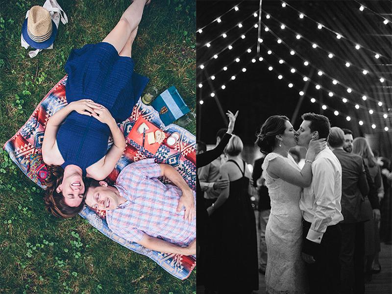 Erika Nizborski Wedding Photography DC engagement photo and photo at reception