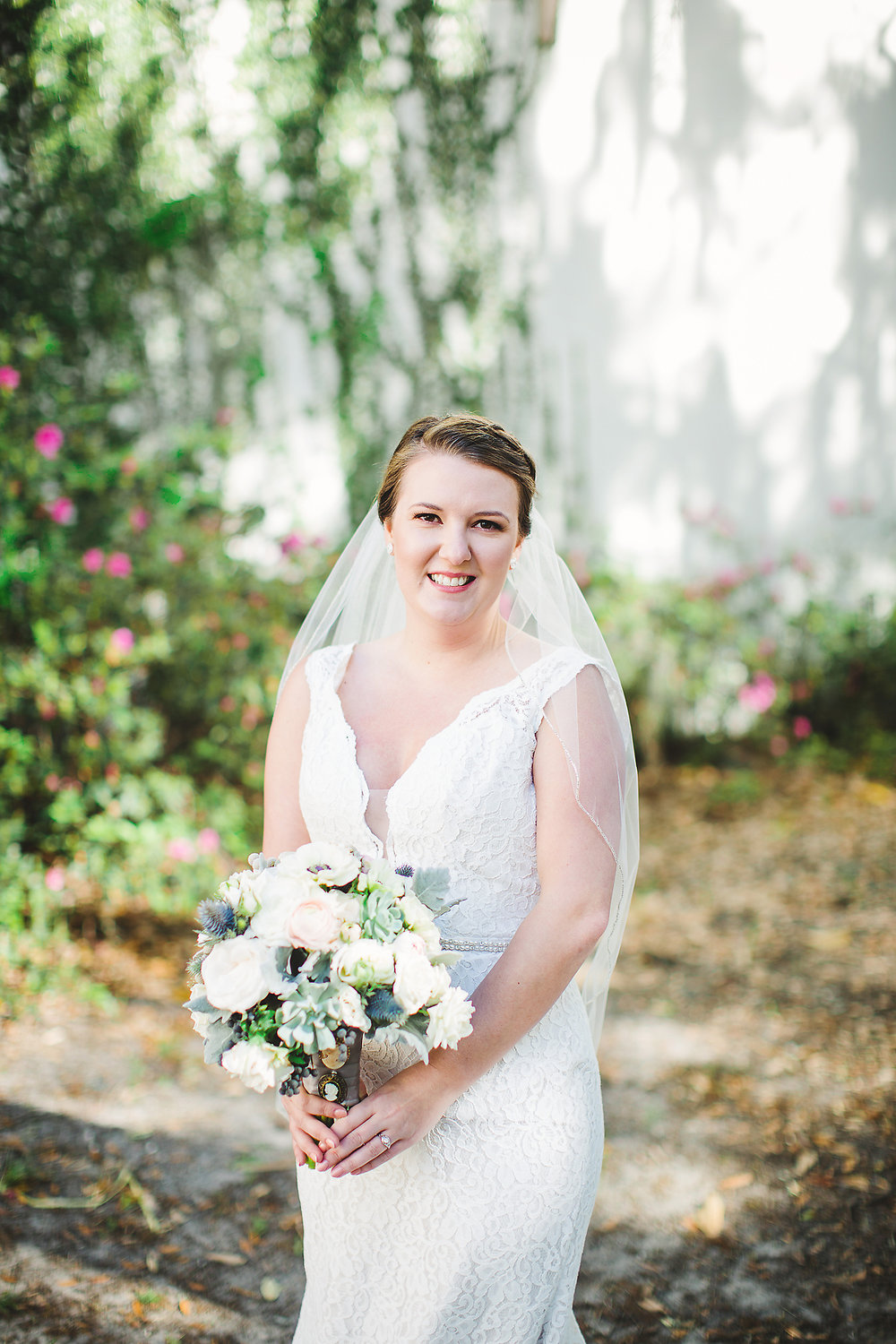 Izzy Hudgins Wedding Photography bride poses