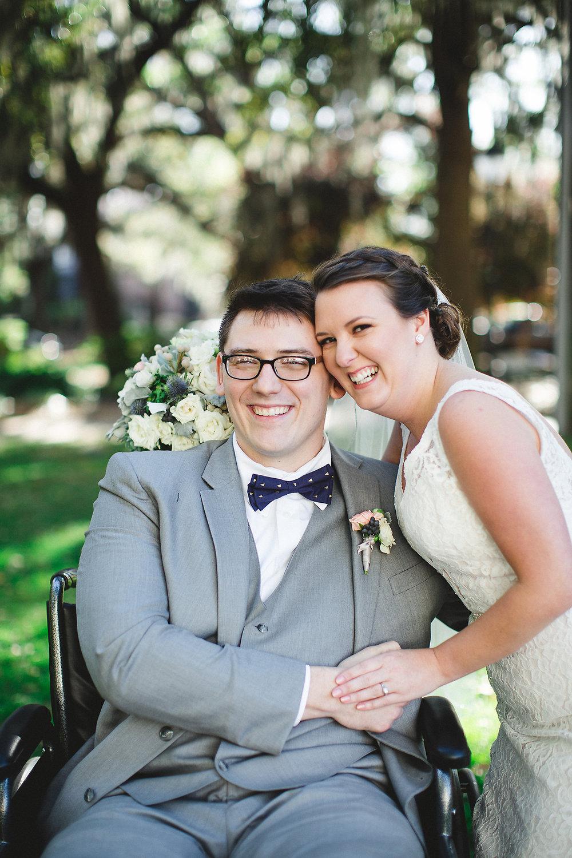 Izzy Hudgins Wedding Photography smiling couple