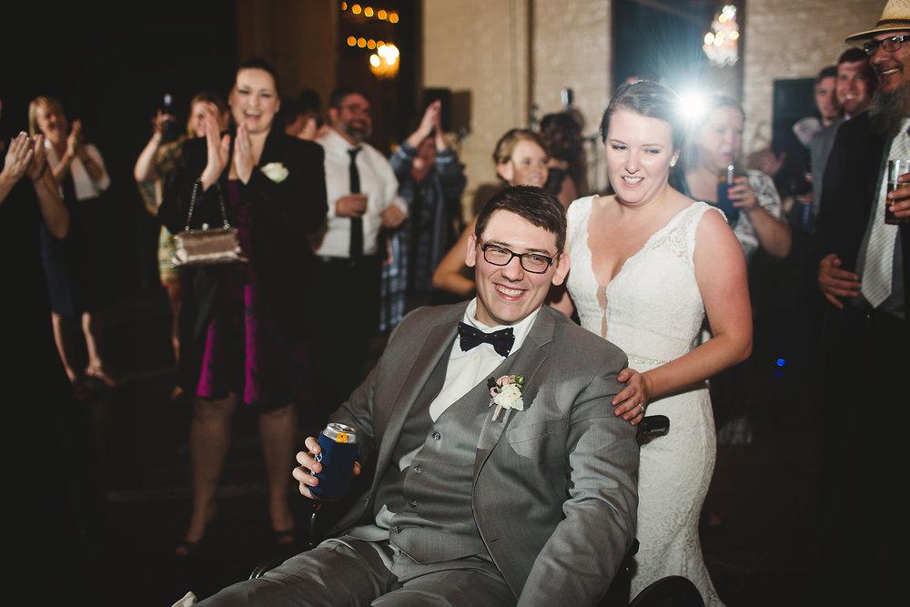 Izzy Hudgins Wedding Photography couple on dance floor