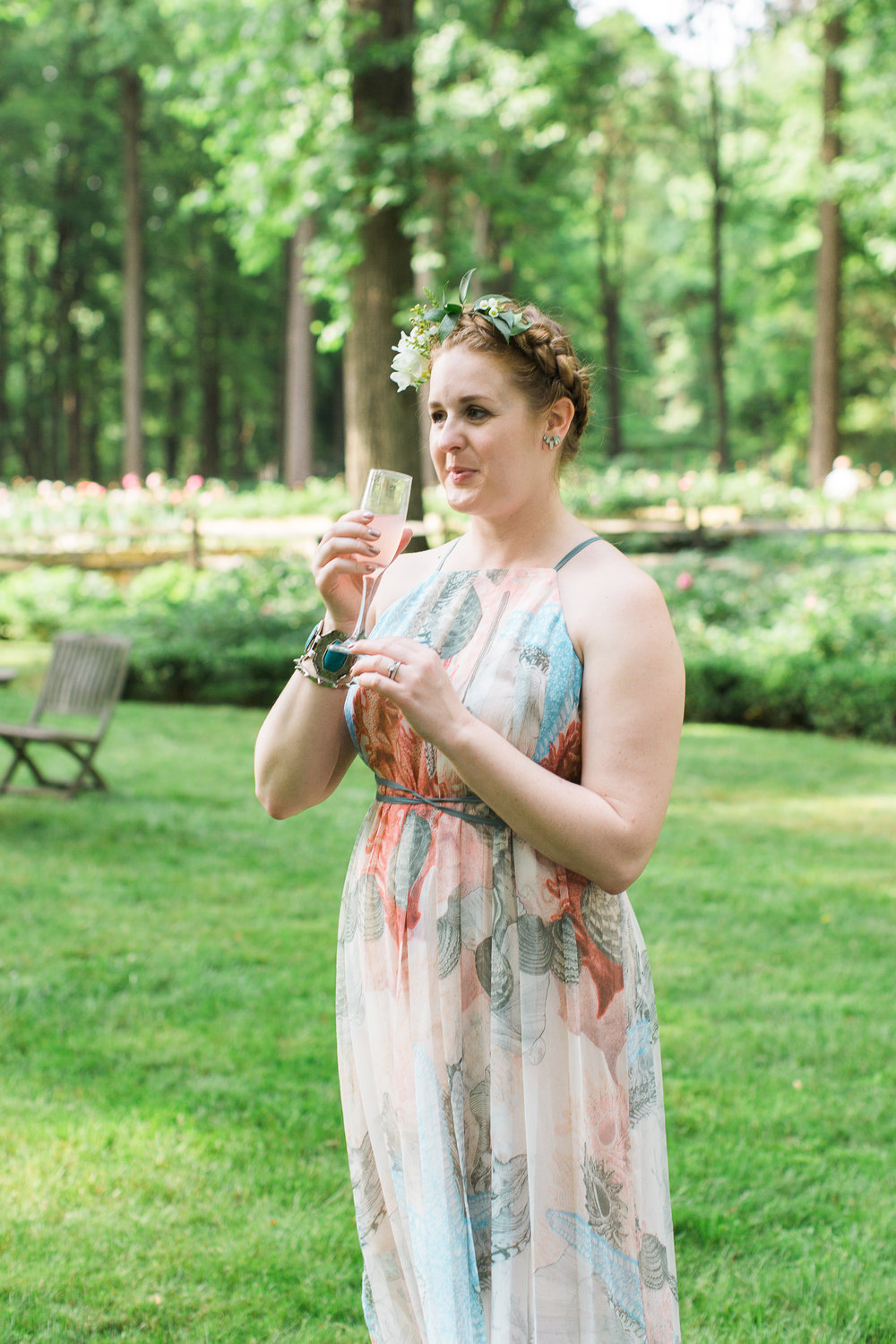 Chelo Keys Wedding Photography New Jersey guest sipping drink