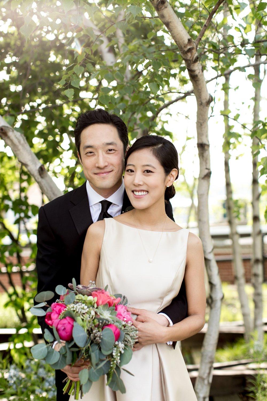 Leonard + Michelle Wedding portrait by Brookelyn Photography