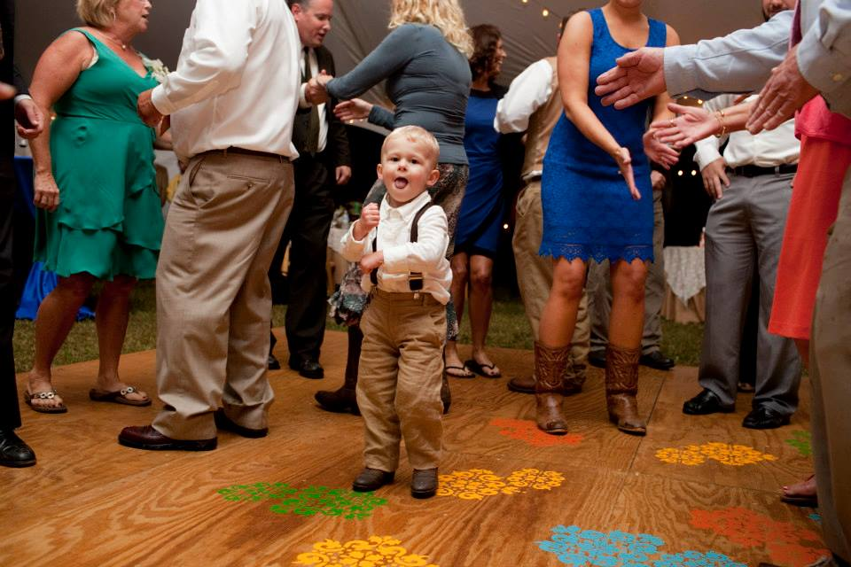 Freebird Imagery little boy on dance floor