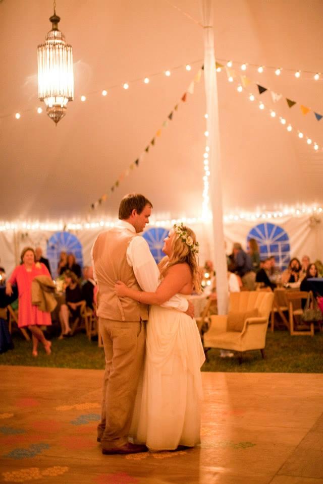 Freebird imagery couple dancing at wedding