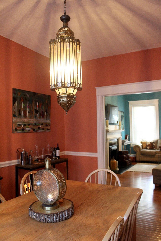 Freebird Imagery repurposed light from wedding reception