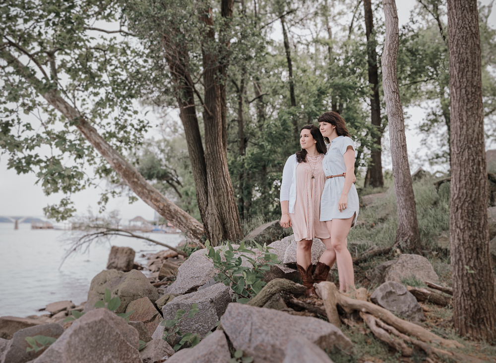 Amanda and Lauren Engagement by  Amanda Summerlin