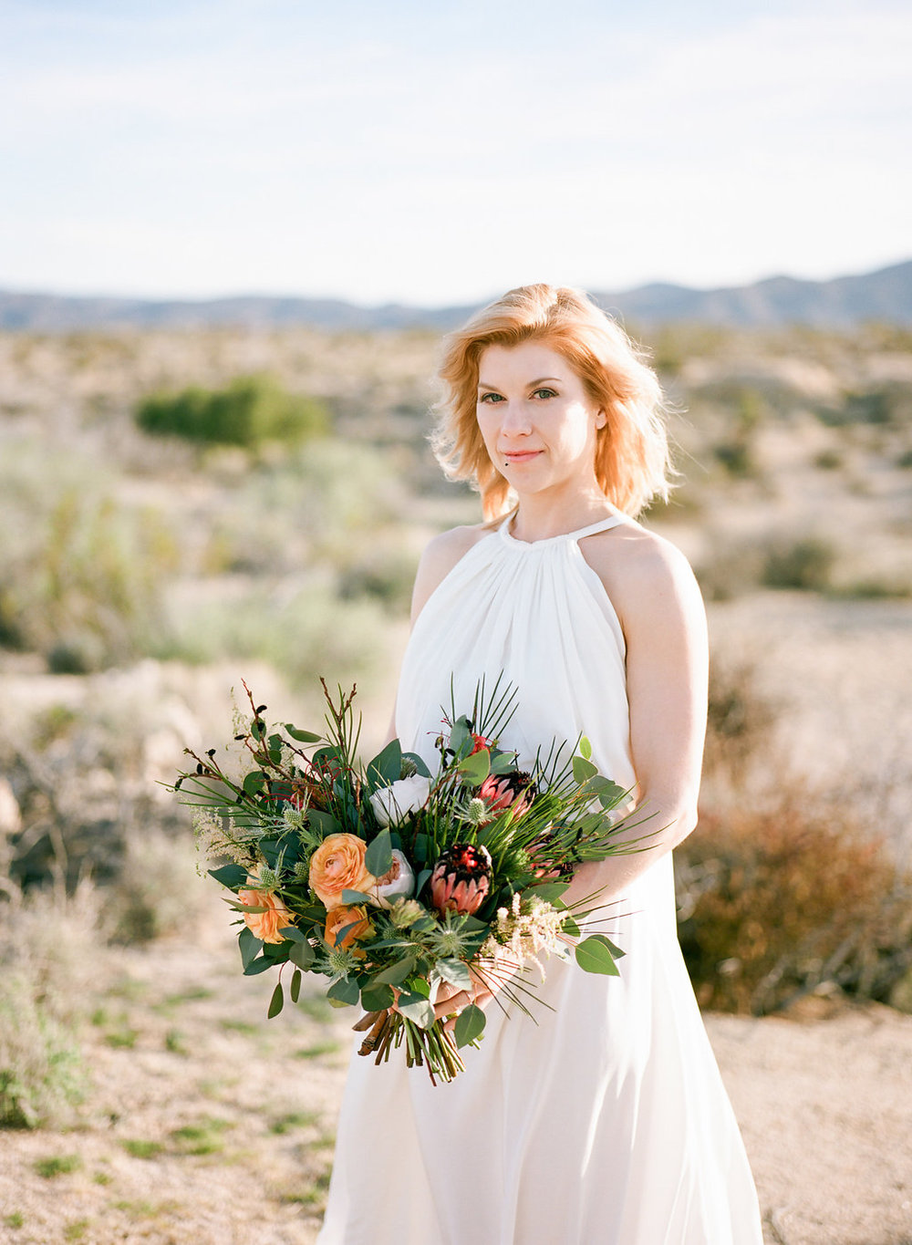 Jessica Schilling Wedding Photography woman with bouquet