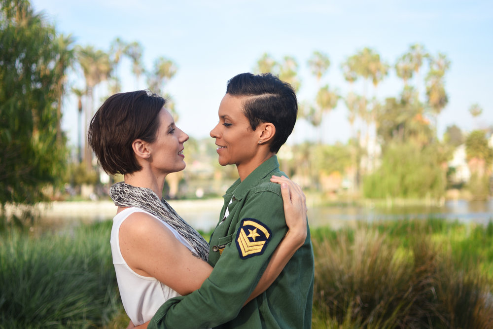 Spring and Jayni Engagement   Photos by Jade Elora