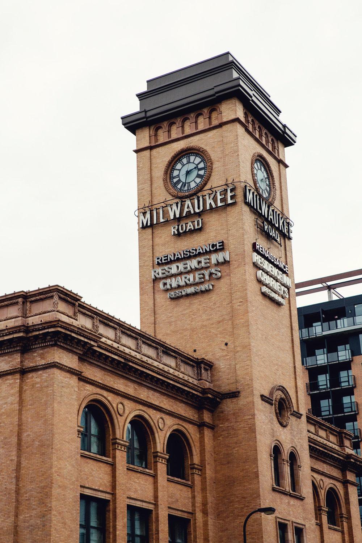 Milwaukee Road Clocktower