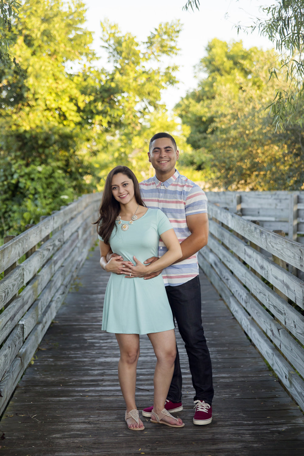 Manny and Neiba military homecoming wedding engagement session by Stephanie Axtell
