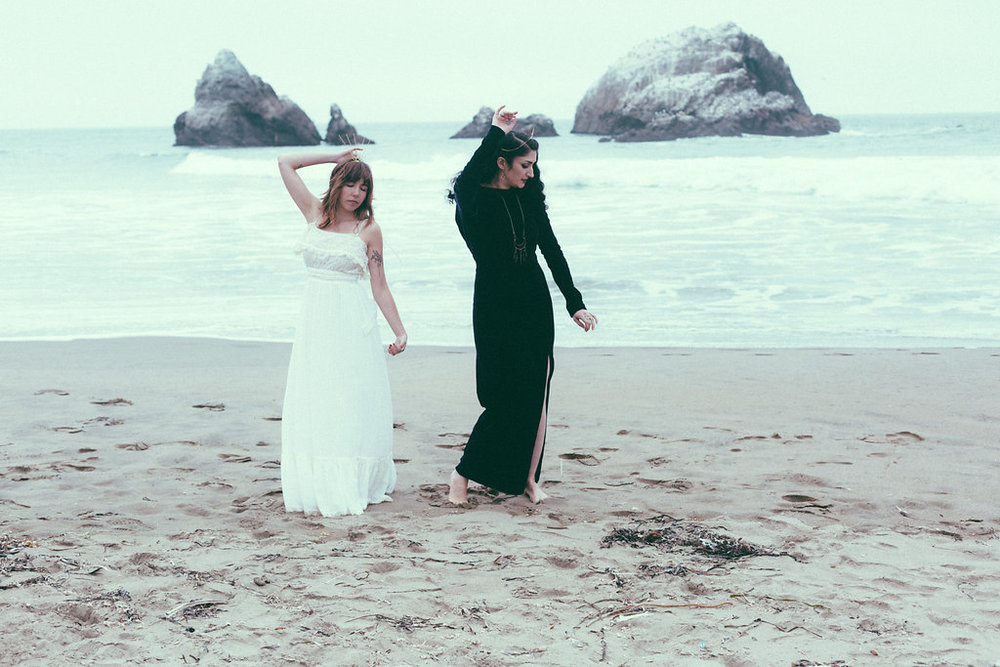 Light Witch / Dark Witch Shoot by Bridal Marche, Michelle Terris, and Holly Bobisuthi