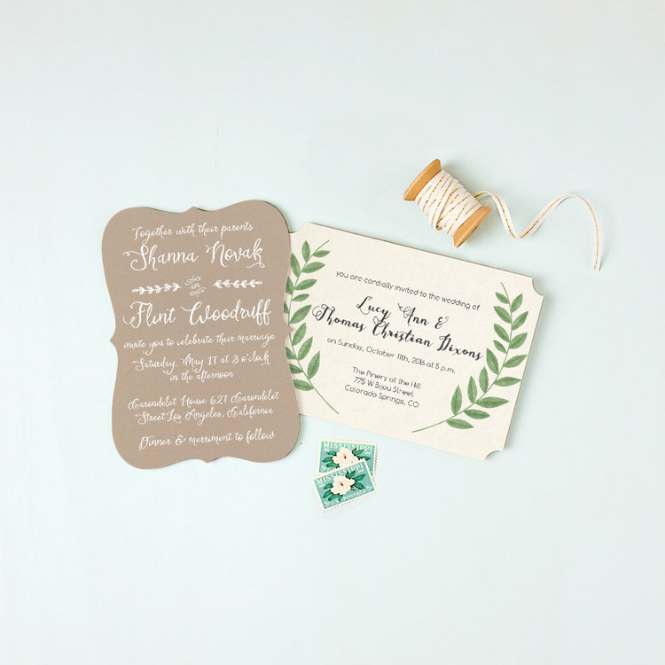 Basic Invite Custom Invitations