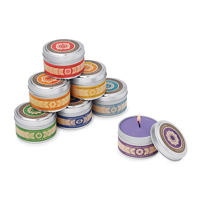 Uncommon Goods Chakra Candles
