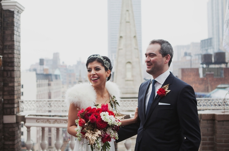 Wedding in New York City by Les Loups Photography