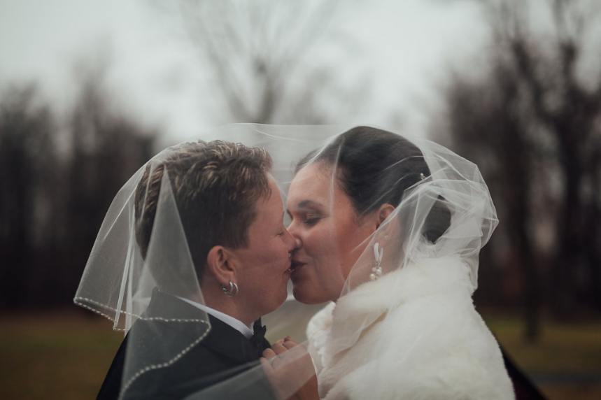 Amish Country Winter Wedding by Carly Romeo & Co.