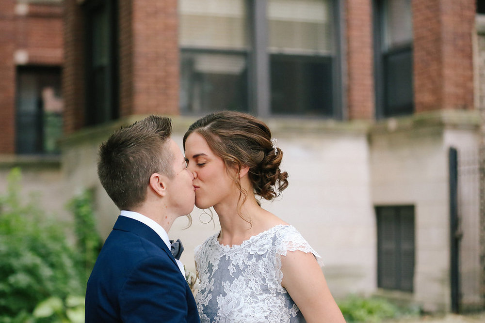 Firehouse Andersonville Chicago Illinois Wedding LGBTQ J.Crew