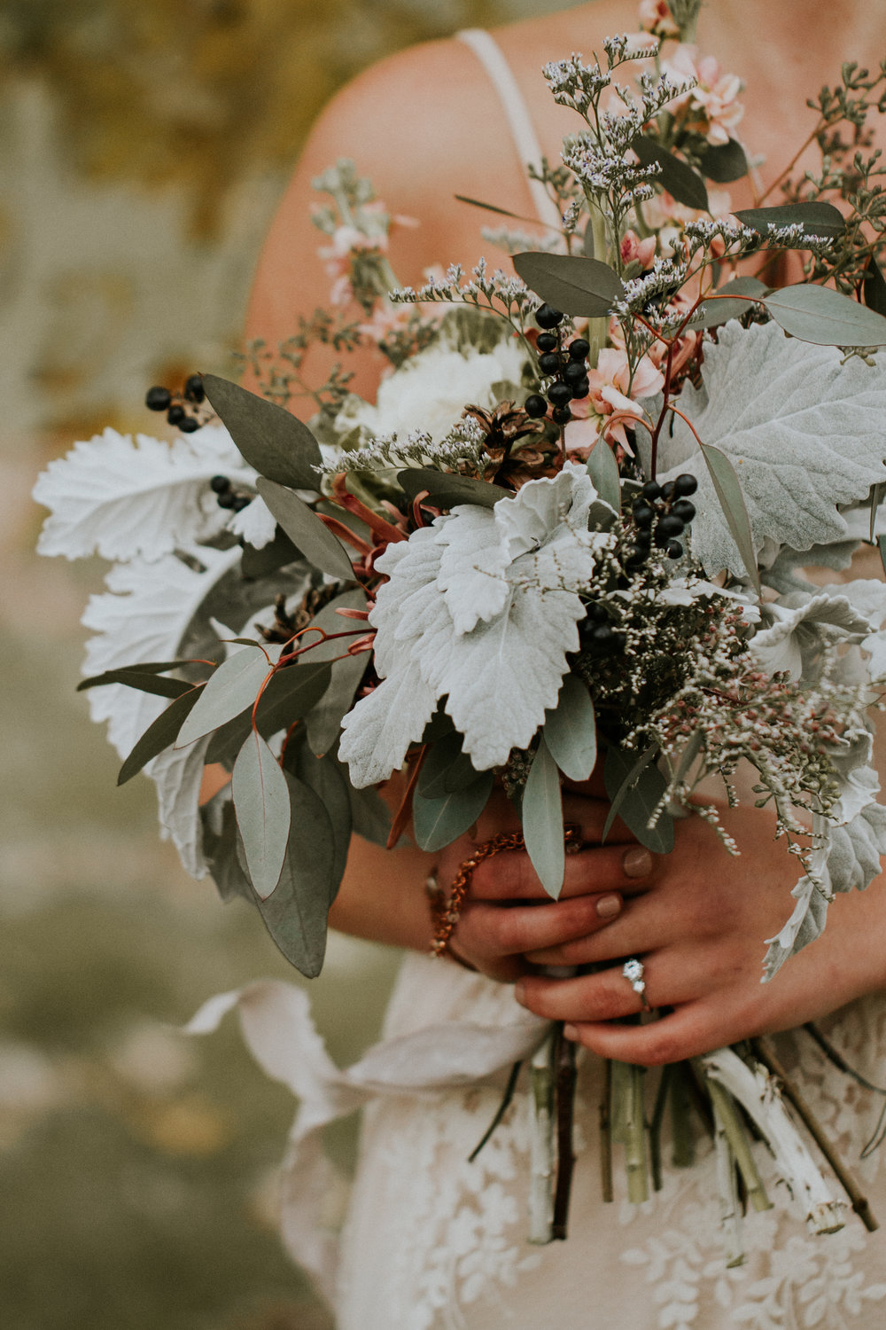 Wedding Elopement Columbus Ohio Forest Autumn Rosehill Media