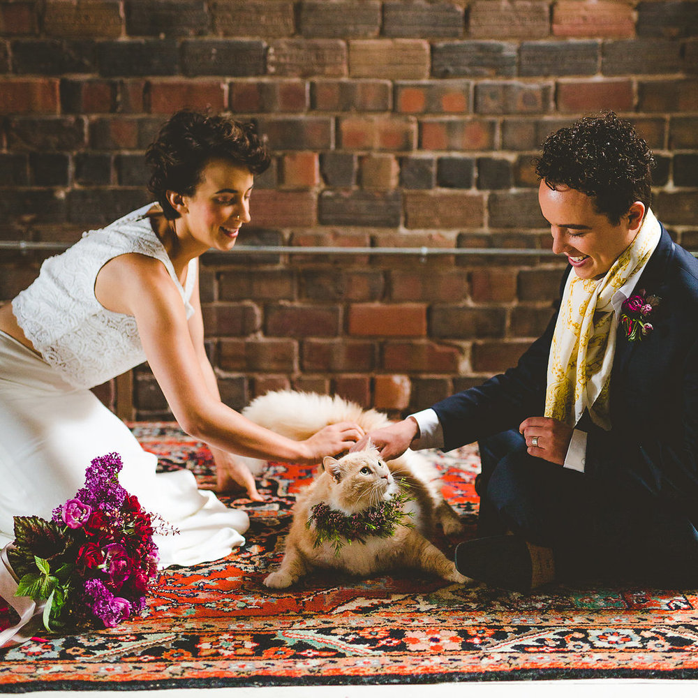 Columbus Ohio Royal Wedding Inspiration Lace Cats Floral Rachel Barehl