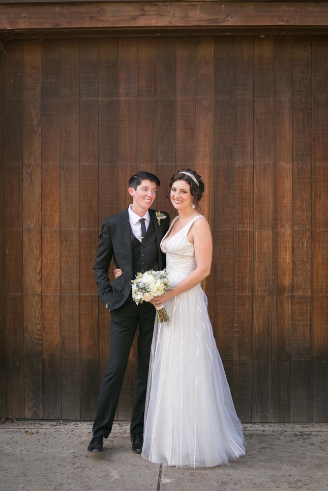 Lesbian Vineyard Wedding Genderqueer