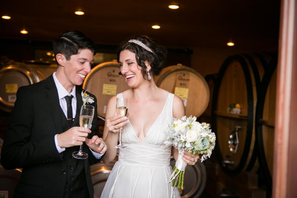 Lesbian Vineyard Wedding