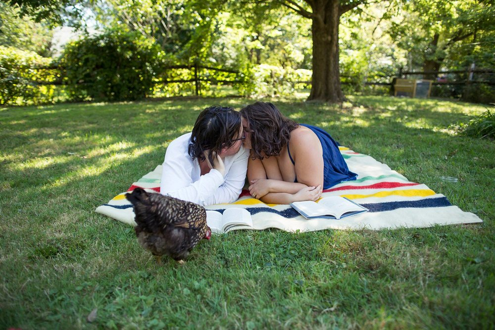 Two Year wedding Anniversary in home photo shoot in Columbus Ohio by Sarah Mulder