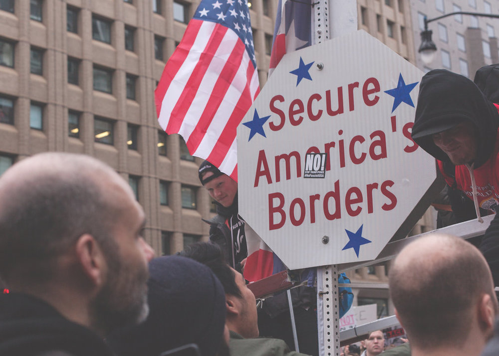 Women's March on Washington - Secure America's Borders - NO!