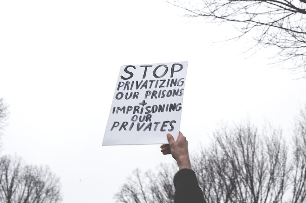 "Women's March on Washington - ""Stop Privatizing Our Prisons and imprisoning our privates"