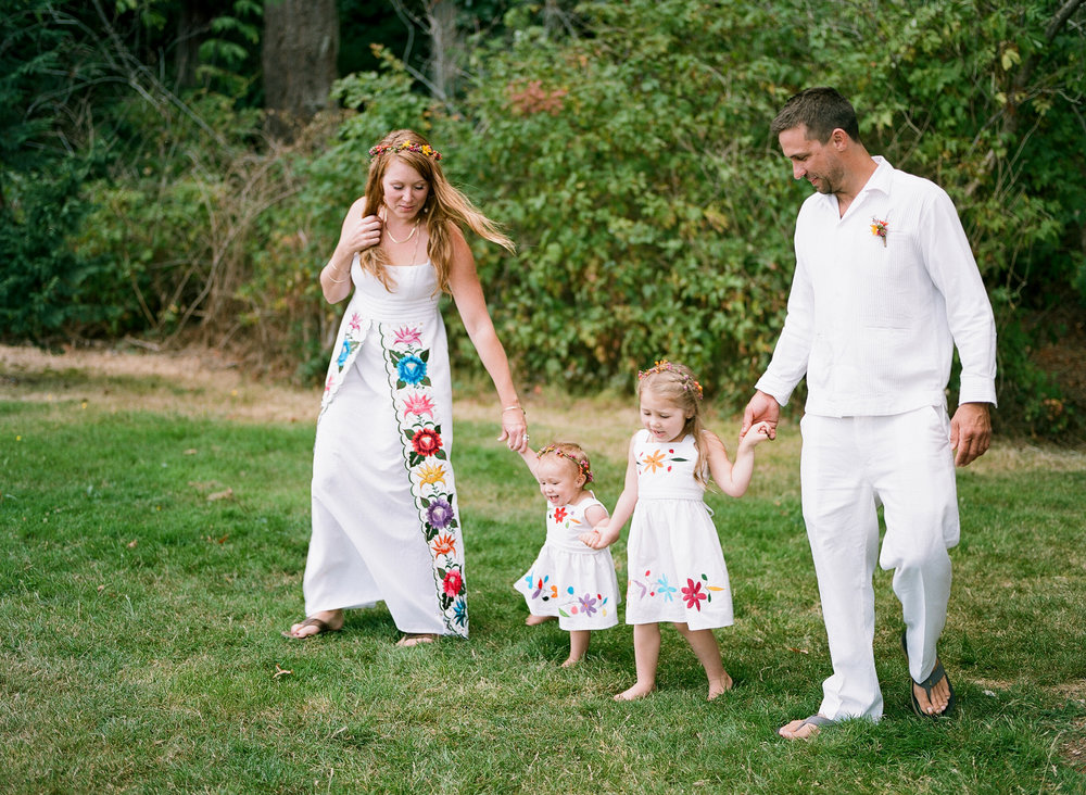 Seattle Washington Family Island Wedding Elopement by Catherine Abegg