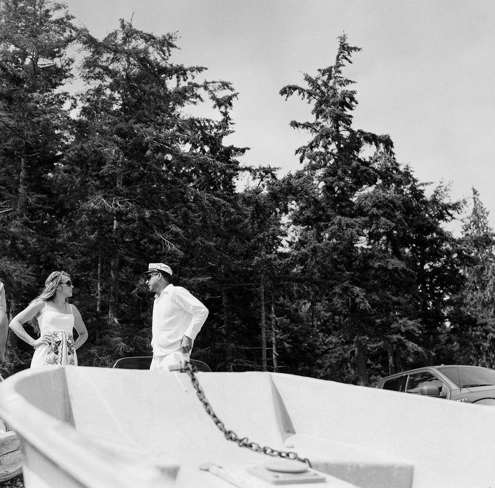 Seattle Washington Family Island Wedding Elopement by Catherine Abegg