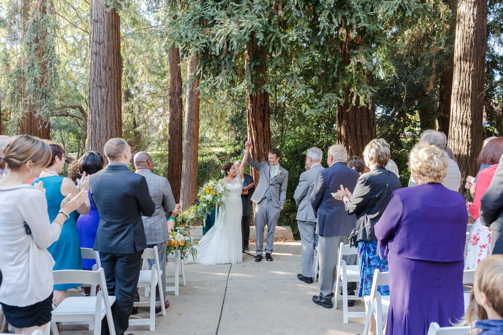 Outdoor wedding in the Bay Area by Juniper Spring Photography