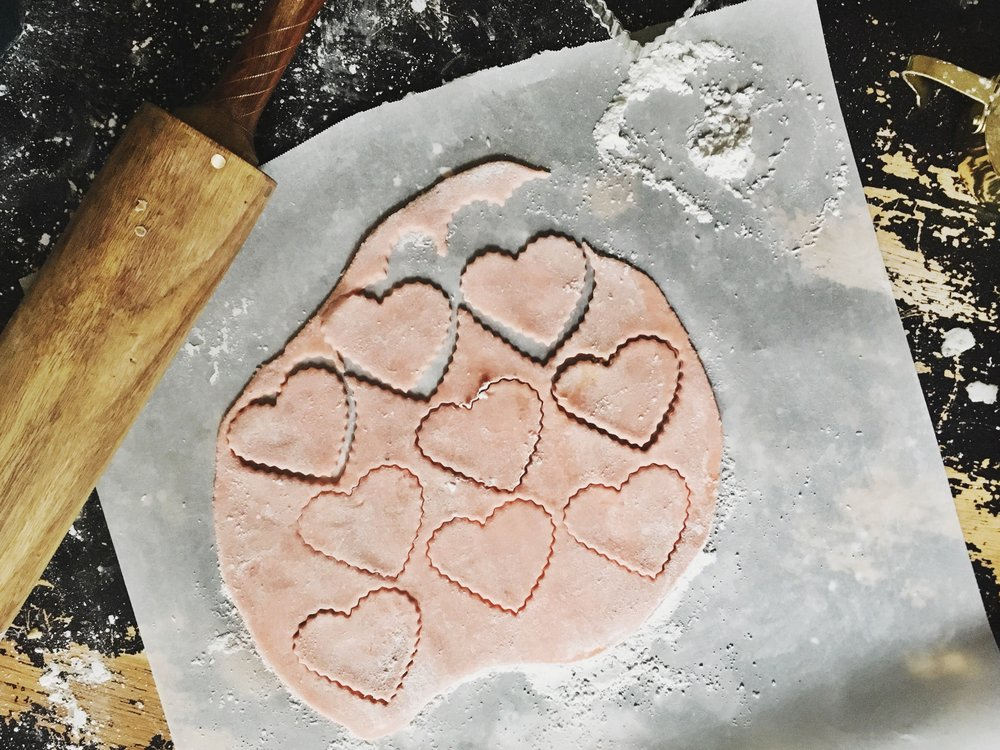 Conversation Heart Cookies by Charlottesville Virginia Baker Arley Cakes