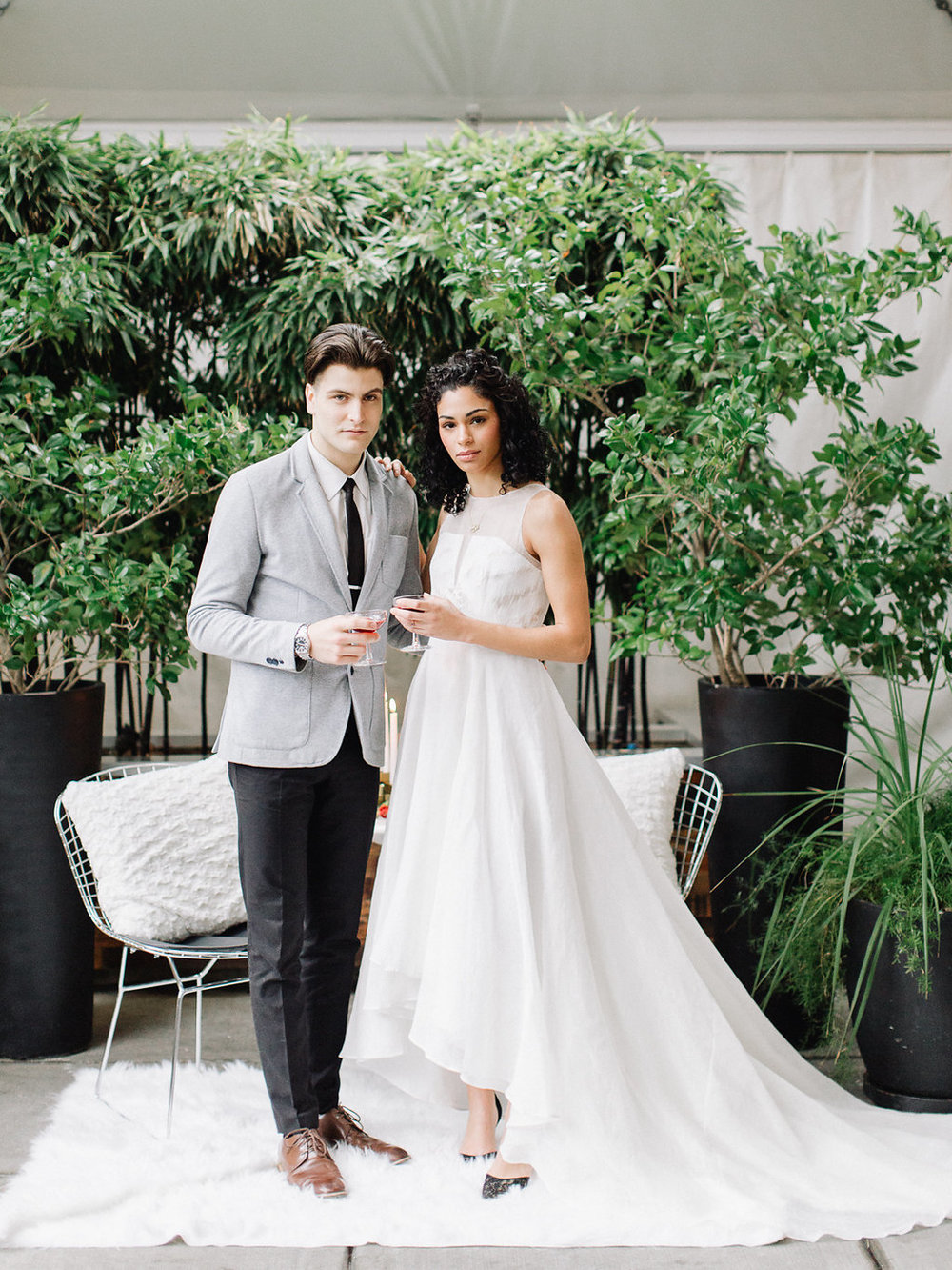 Portland Oregon Classic Modern Wedding Inspiration