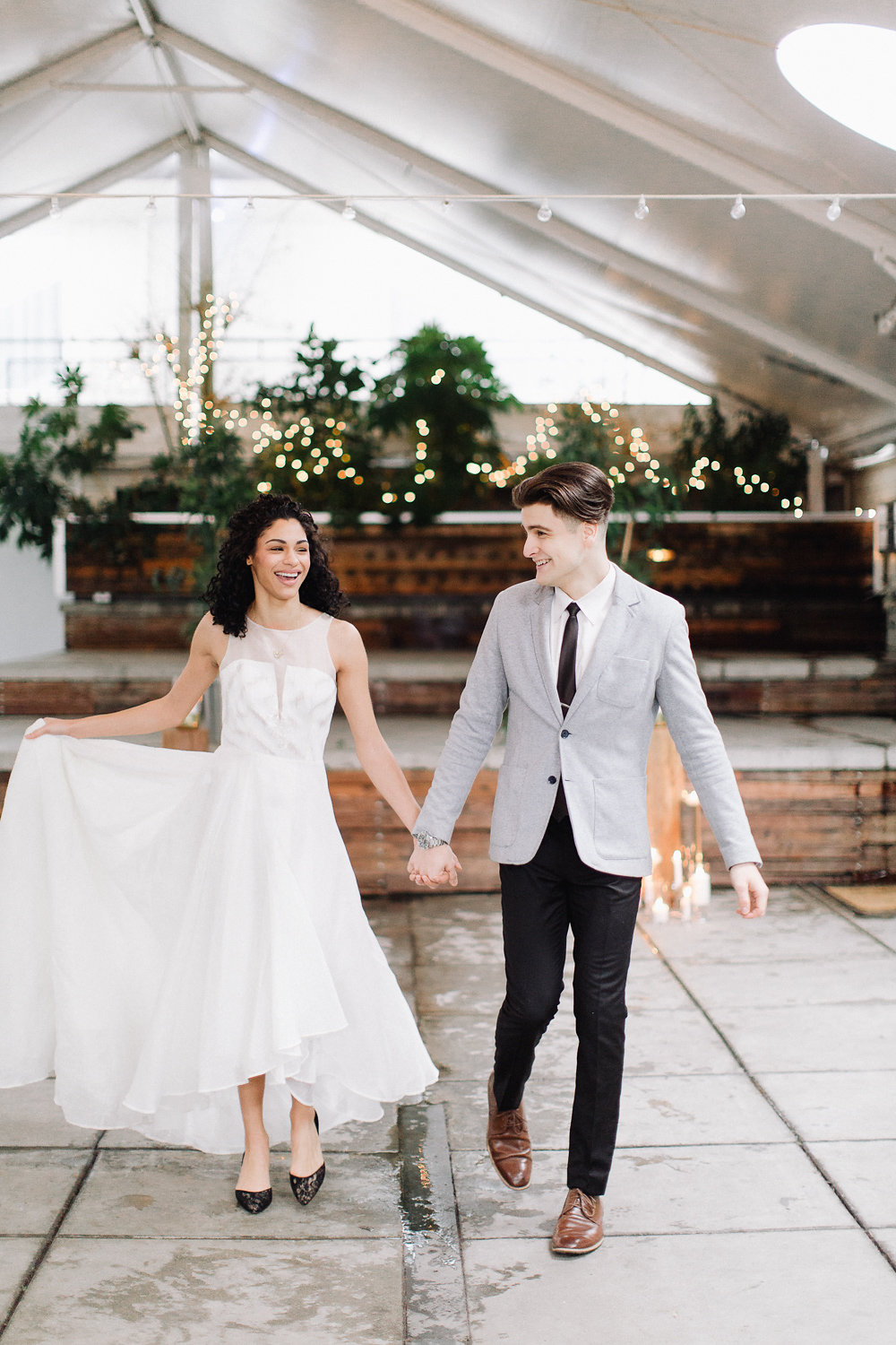 Portland Oregon Classic Modern Wedding Inspiration by Eden Willow Photography