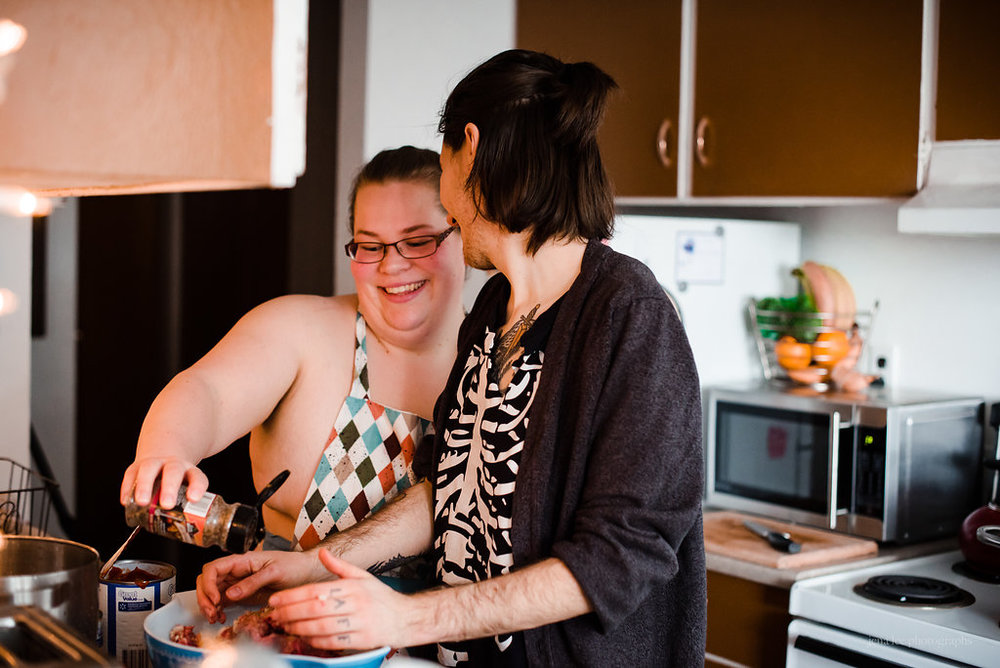 Jena Lee LGBTQ In Home Intimate Shoot