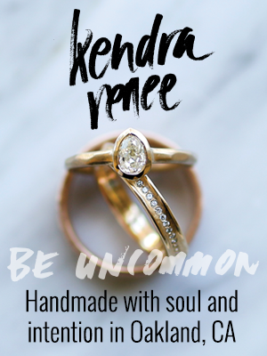 Kendra Reneee. Be Uncommon. Handmade with soul and intention in Oakland, CA