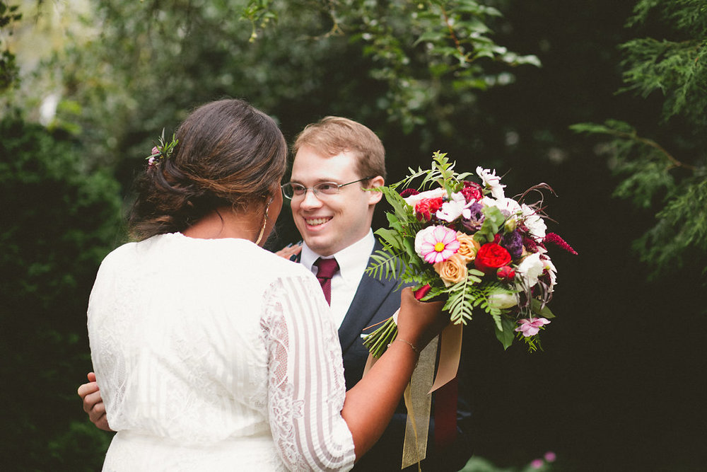 Bri Richards Parsons Garden Seattle Wedding
