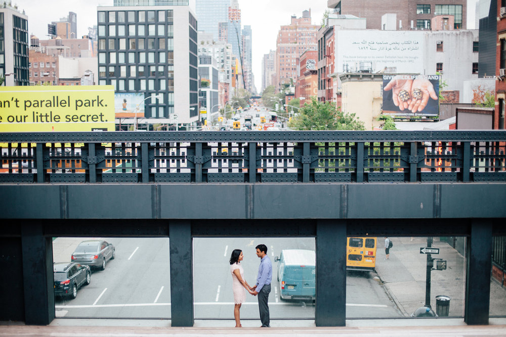 Samantha Lauren Photographie High Line New York Engagement