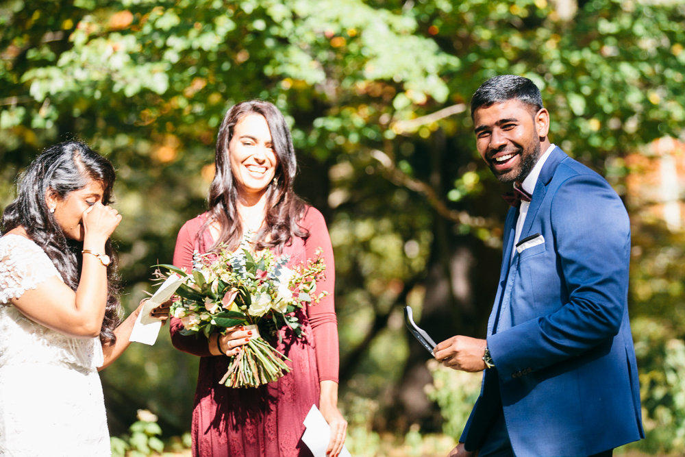 Samantha Lauren Photographie Fall Airbnb Wedding