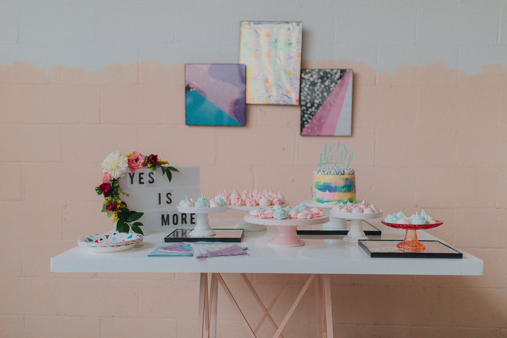 Playful and Colorful LGBTQ wedding inspiration styled shoot in Columbus Ohio