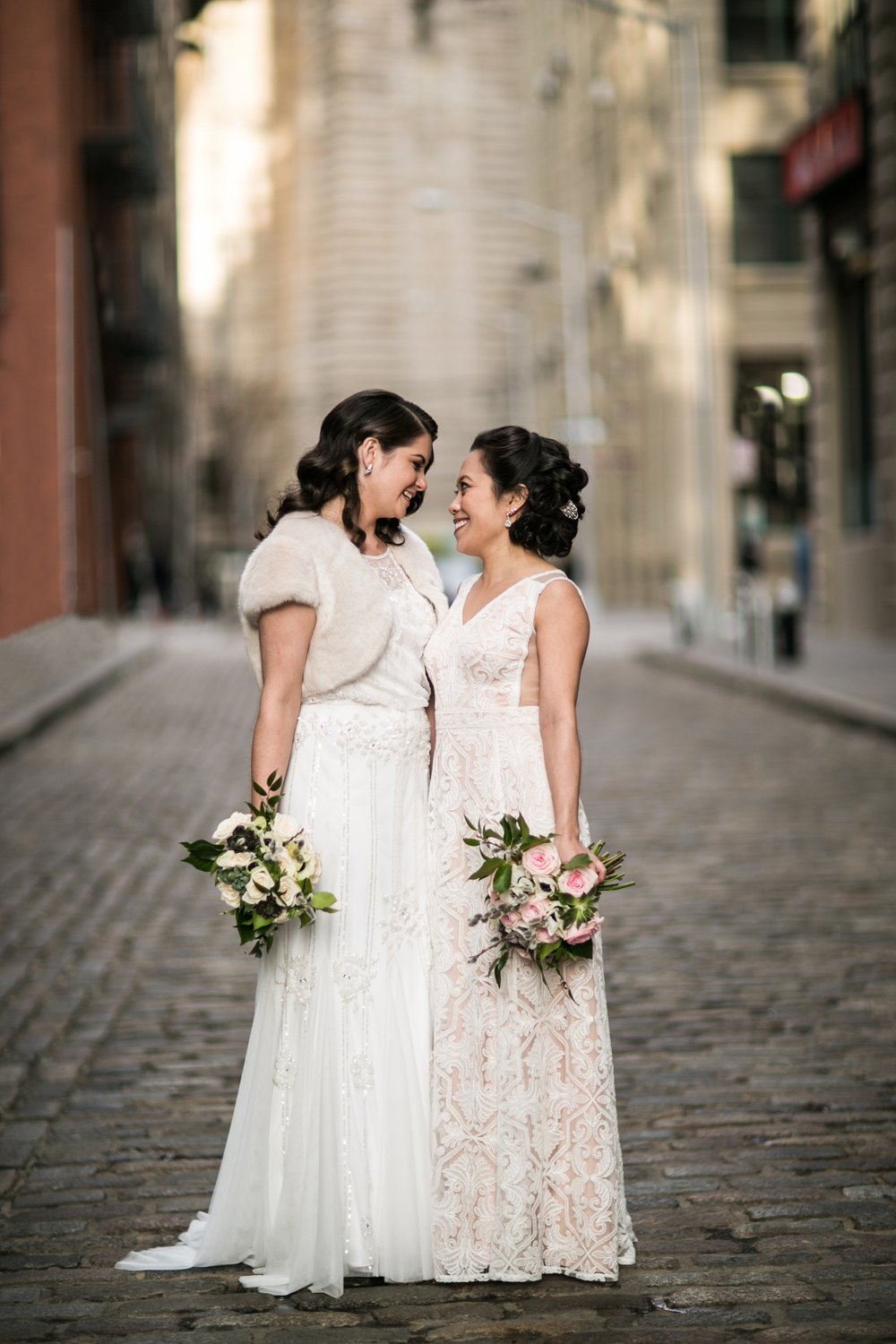 Amber Marlow is a progressive LGBTQ-friendly wedding photographer in Brooklyn New York