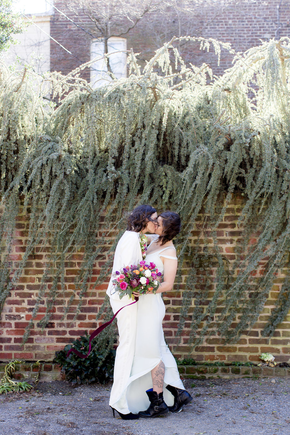 Richmond Virginia LGBTQ Boudoir and Wedding Inspiration by Stephanie Yonce Photography